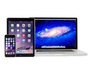 E-Mails können mit jedem beliebigen Endgerät, egal ob iPhone, iPad, Mac von überall her abgerufen werden
