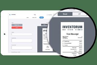 Der Kassenbeleg für den Kunden enthält bei Kassenlösung von INVENTORUM alle wichtigen Informationen
