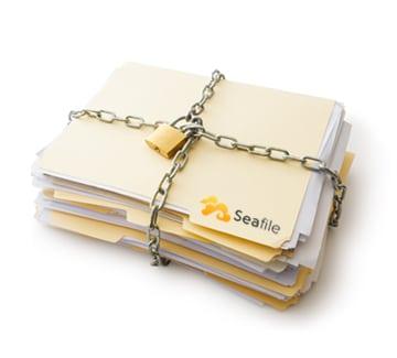 seafile verschlüsselt Dateien von Anfang an - direkt am Rechner.