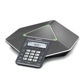 In beinahe jedem Konferenzraum steht heutzutage eine Telefonanlage mit Lautsprechern für Online- und Videokonferenzen