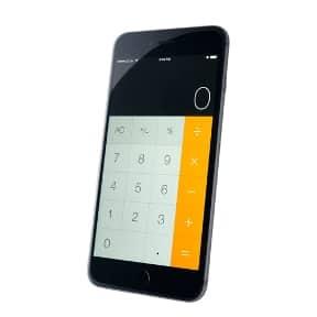 Die Taschenrechner-App auf dem iPhone zählt zu den meist genutzten Native-Apps.