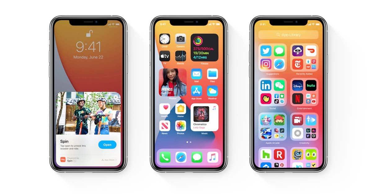 Frische Farben und ein ansprechendes Design mit abgerundeten Ecken sind das Markenzeichen von den intuitiven Apple Apps.