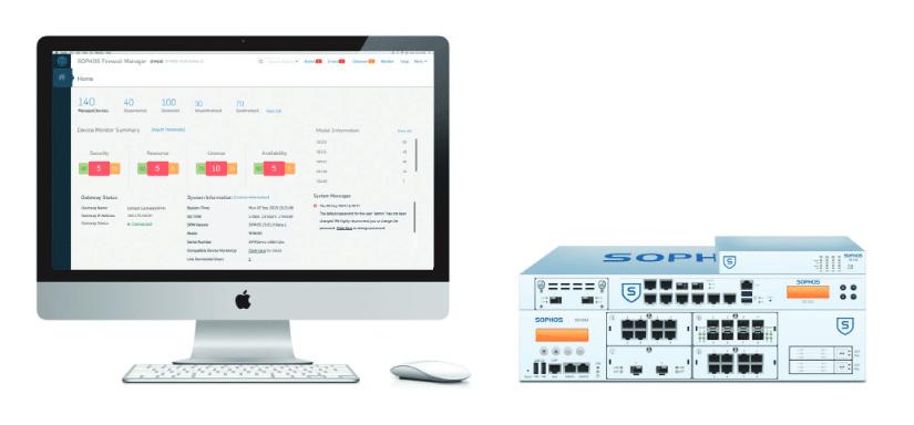 Die Firewall-Lösungen von SOPHOs bieten maßgeschneiderten Datenschutz und ein Reihe hilfreicher Sicherheitsfeatures.